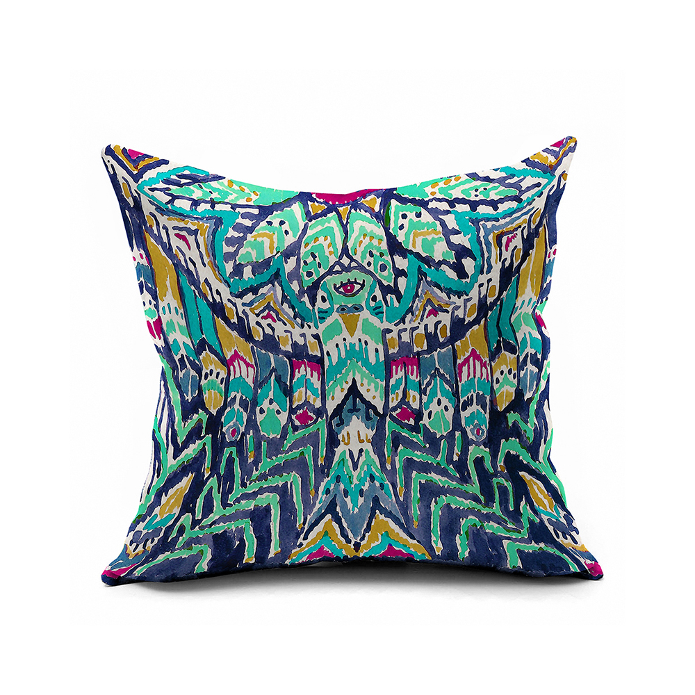 Watercolor Ikat Cushion Cover,ikat Throw Pillow Covers,pottery Barn ...